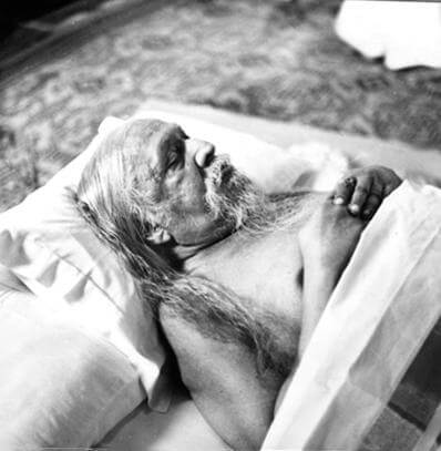 You must feel that Sri Aurobindo is looking at you. -The Mother