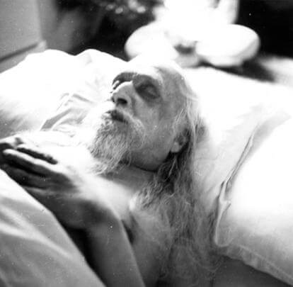 Sri Aurobindo is in the subtle physical, you can meet him when you sleep, if you know how to go there. -The Mother