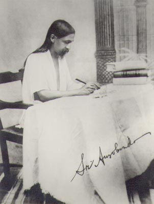 The teaching of Sri Aurobindo starts from that of the ancient sages of India that behind the appearance of the universe there is the Reality of a Being and Consciousness, a Self of all things, one and eternal. All beings are united in that One Self and Spirit but divided by certain separativity of consciousness, an ignorance of their true Self and Reality in the mind, life and body. It is possible by a certain psychological discipline to remove this veil of separative consciousness and become aware of the true Self, the Divinity within us and all.
