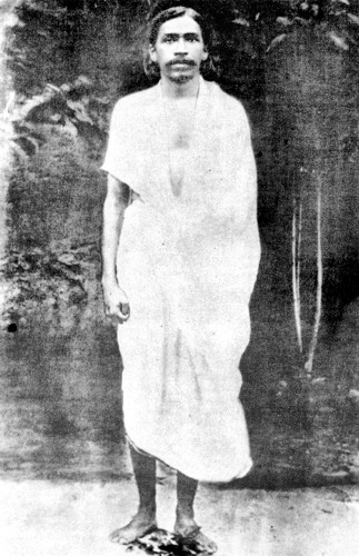[By 1909] Sri Aurobindo had already realized in full tow of the four great realizations on which his Yoga and his spiritual philosophy are founded. The first he had gained while meditating with the Maharashtrian Yogi Vishnu Bhaskar Lele at Baroda in Jnauary 1908; it was the realisation of the silent, spaceless and timeless Brahman... his second realisation ... was that of the cosmic consciousness and of the Divine as all beings and all that is, which happened in Alipore Jail.