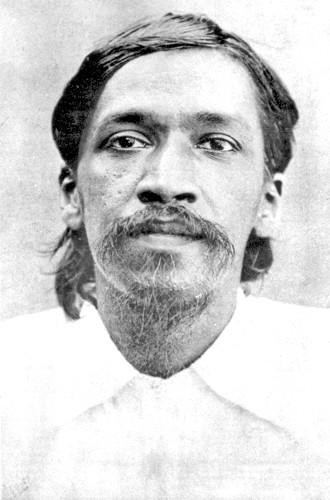 ...early one morning [in May 1908] while he was still sleeping, the police charged up the stairs, revolver in hand, and arrested him. He was taken to the police station and thence to Alipore Jail where he remained for a year.... In the jail he spent almost all his time in reading the Gita and Upanishads and in intensive meditation and the practice of Yoga.