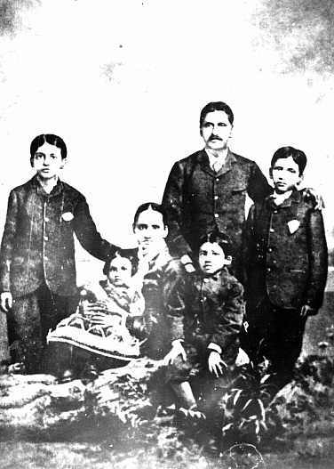 In 1879 [Sri Aurobindo's father] took his three sons to England and placed them with a clergyman and his wife with strict instructions that they should not be allowed to make the acquaintance of any Indian or undergo any Indian influence. These instructions were carried out to the letter.