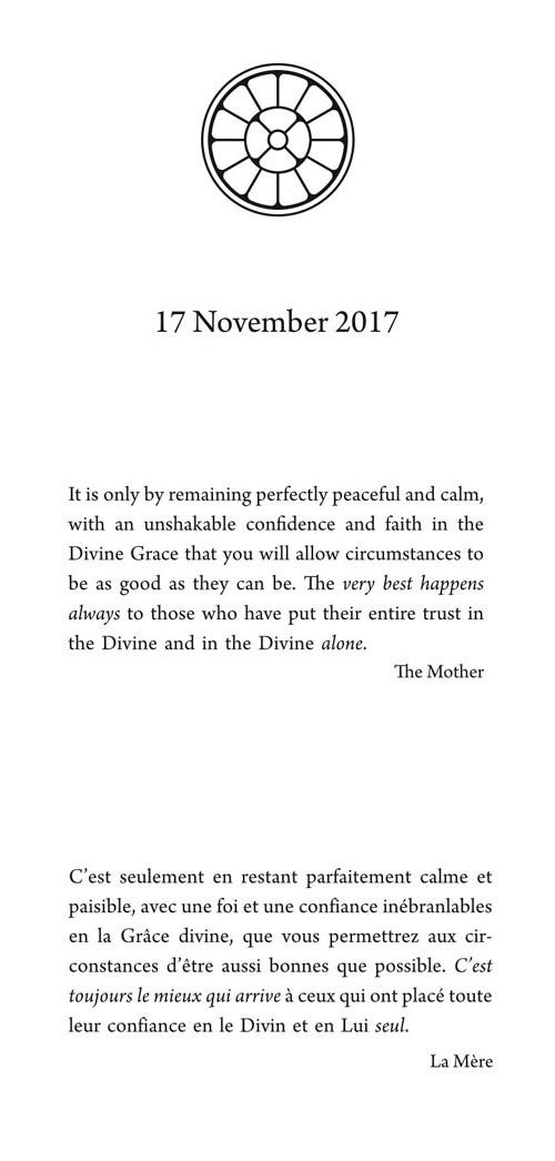 Darshan Card 17 Nov 2017
